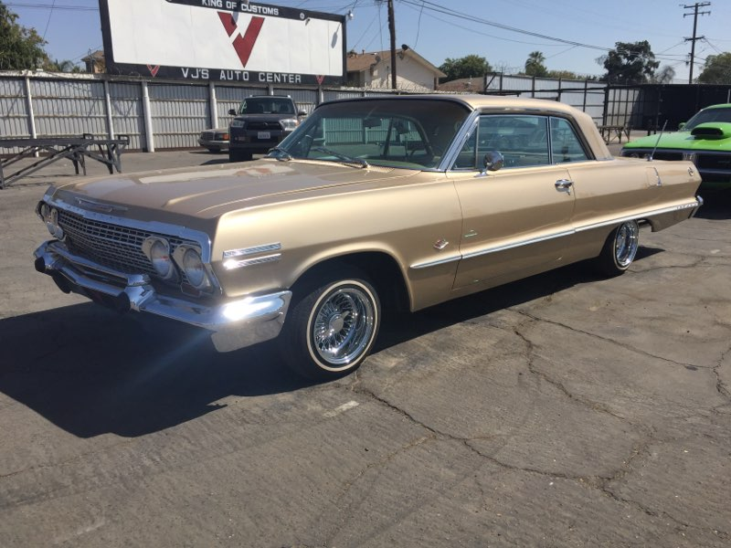 Sold 1963 Chevy Impala V8 In Fresno