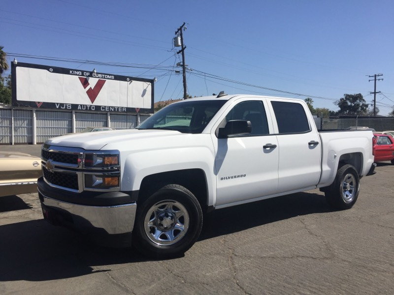 Used 2015 Chevrolet Silverado 1500 Ls In Fresno