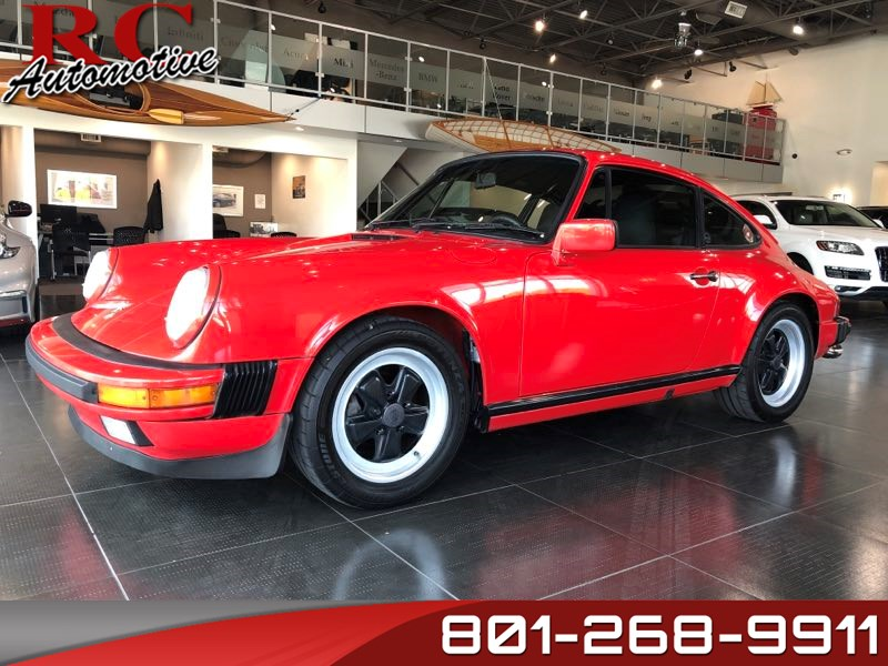 1988 Porsche 911 >> Used 1988 Porsche 911 Carrera Coupe In Salt Lake City