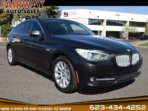 View 2012 BMW 5 Series Gran Turismo