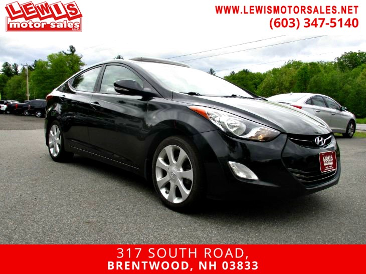 2013 Hyundai Elantra Limited Navigation Back Up Cam