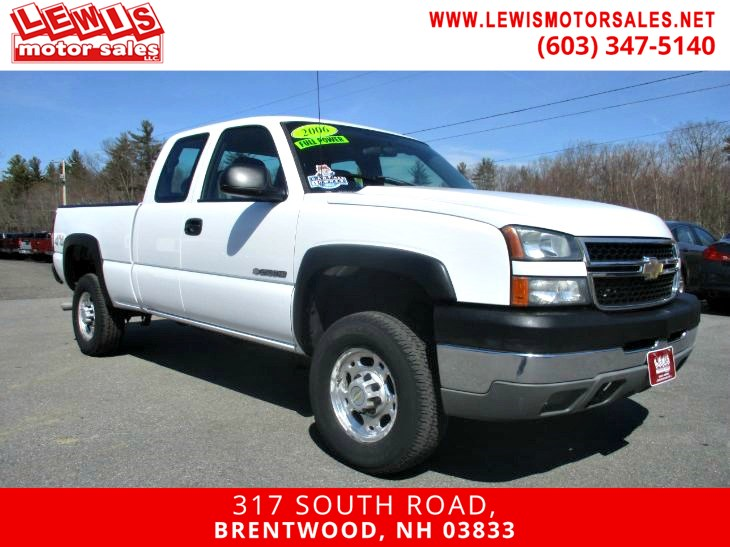 2006 Chevrolet Silverado 2500HD Work Truck 4X4 Full Power