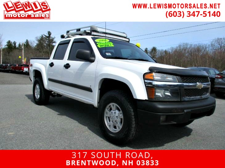 2008 Chevrolet Colorado LT w/2LT Z71 Heated Leather
