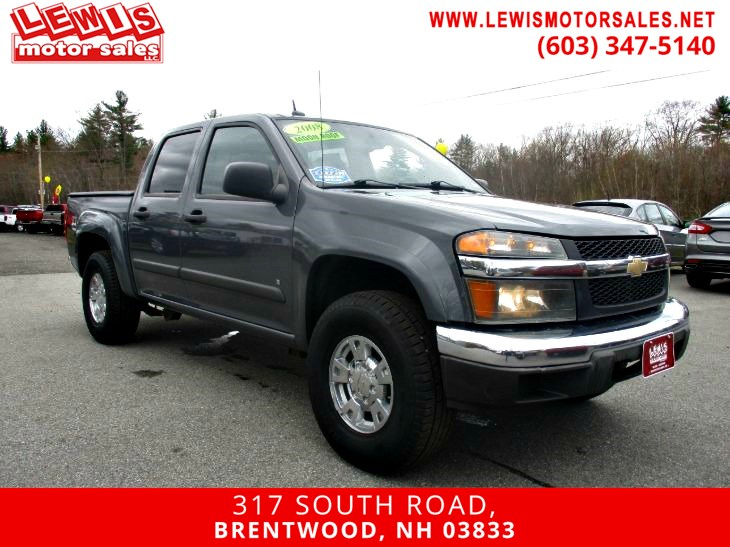 2008 Chevrolet Colorado LT w/2LT Moonroof Z71