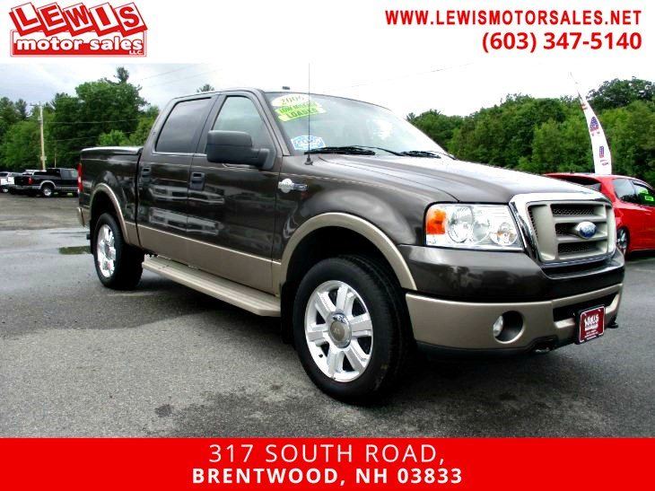 2006 Ford F-150 King Ranch HTD Seats Moonroof
