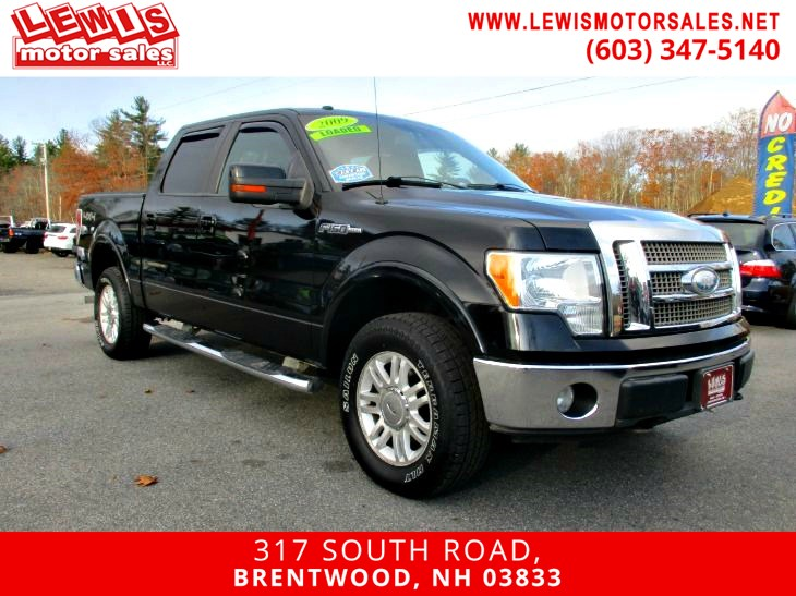 2009 Ford F-150 Lariat Leather Moonroof!
