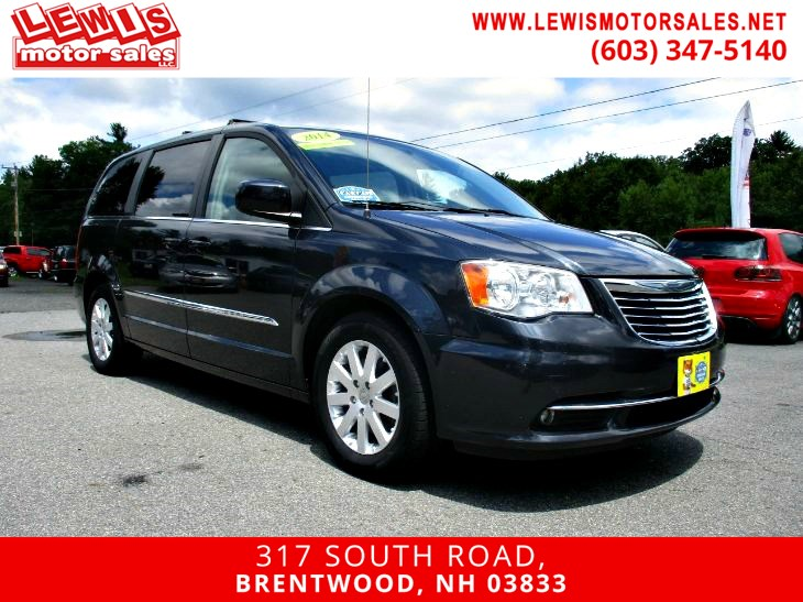 2014 Chrysler Town & Country Touring DVD Back Up Camera