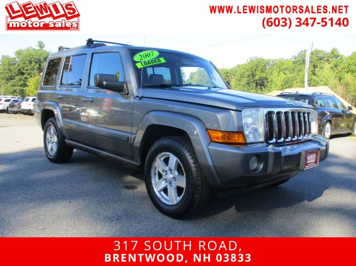 2007 Jeep Commander Sport Leather Moonroof 4x4
