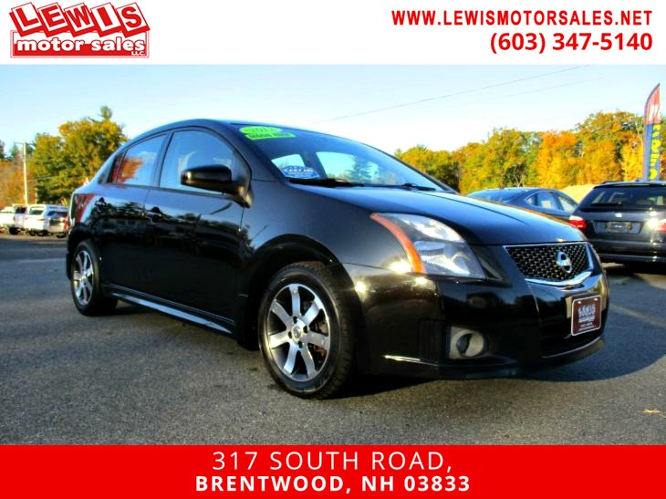 2012 Nissan Sentra 2.0 SR Moonroof Navigation