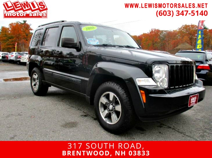 2008 Jeep Liberty Sport Moonroof 4x4