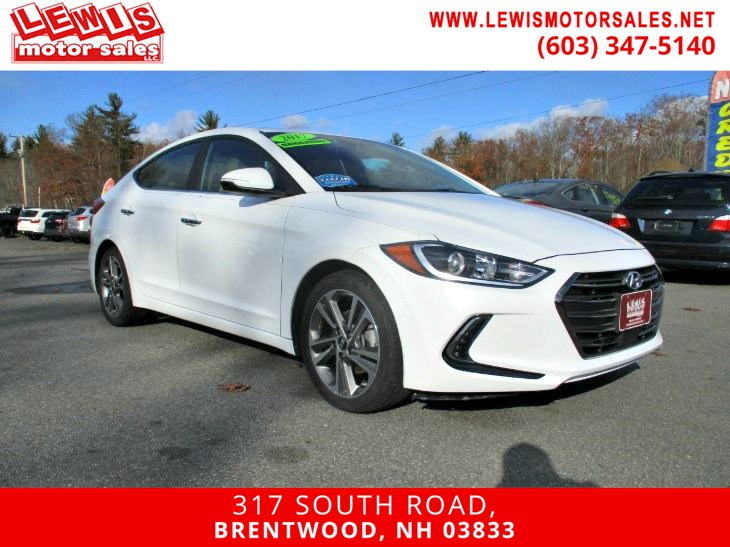 2017 Hyundai Elantra Limited Navigation Heated Seats