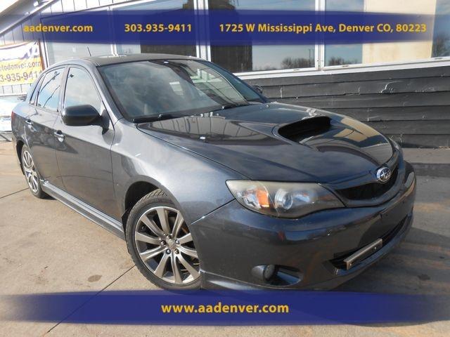 2010 Subaru Impreza Sedan Wrx Wrx Premium Aa Auto Denver