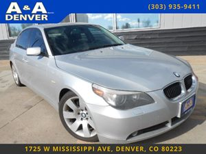 View 2004 BMW 5 Series