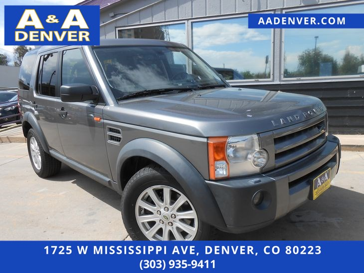 2007 Land Rover LR3 3rd Row SE