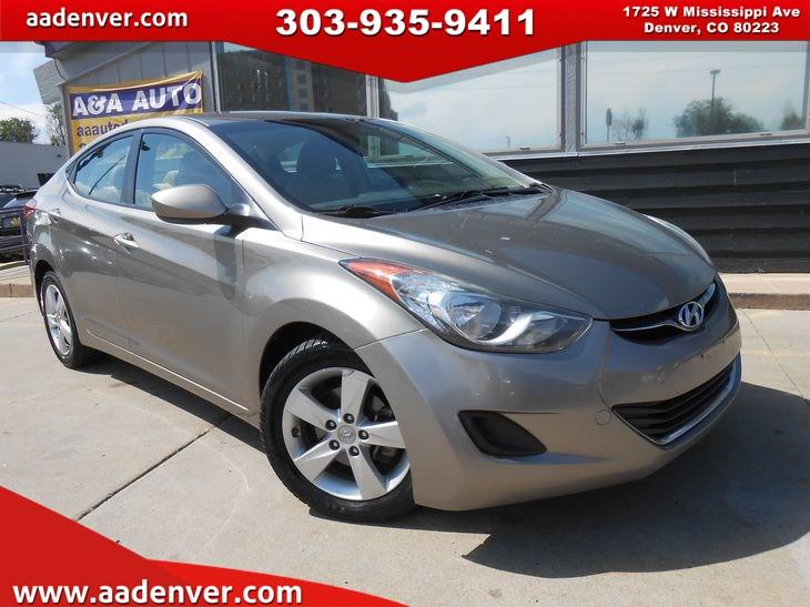 Sold 2013 Hyundai Elantra GLS In Denver