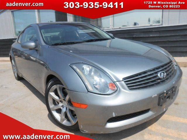 Used 2004 Infiniti G35 Coupe Leather 6 Speed In Denver
