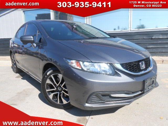 Sold 2014 Honda Civic Sedan Ex In Denver
