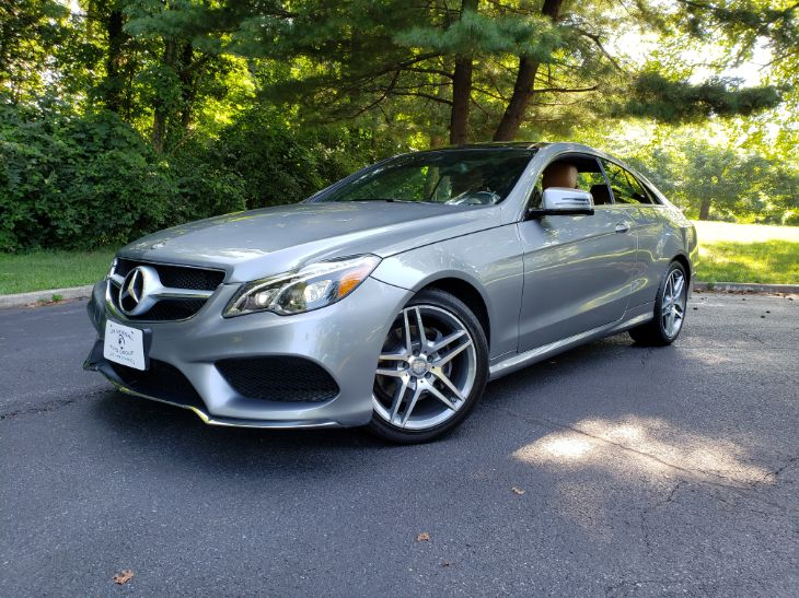 2016 Mercedes-Benz E 400 4MATIC Coupe