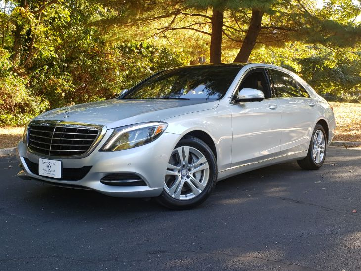 2017 Mercedes-Benz S 550 4MATIC Sedan