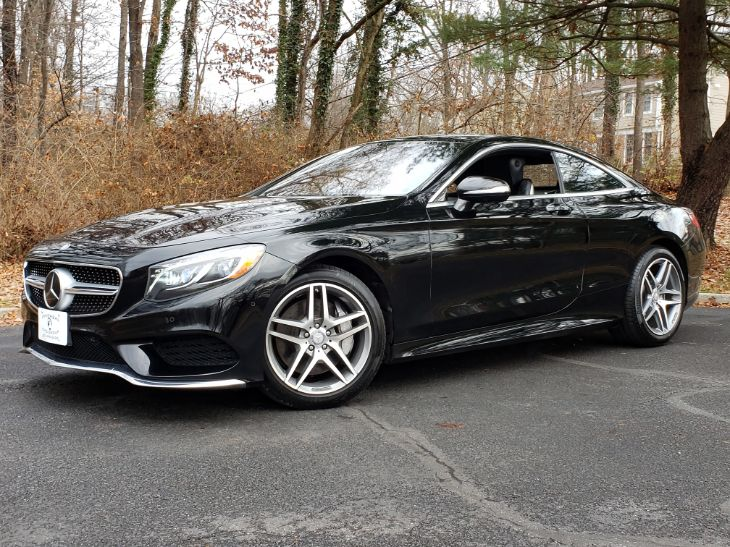 2016 Mercedes-Benz S 550 4MATIC Coupe