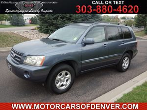 View 2003 Toyota Highlander