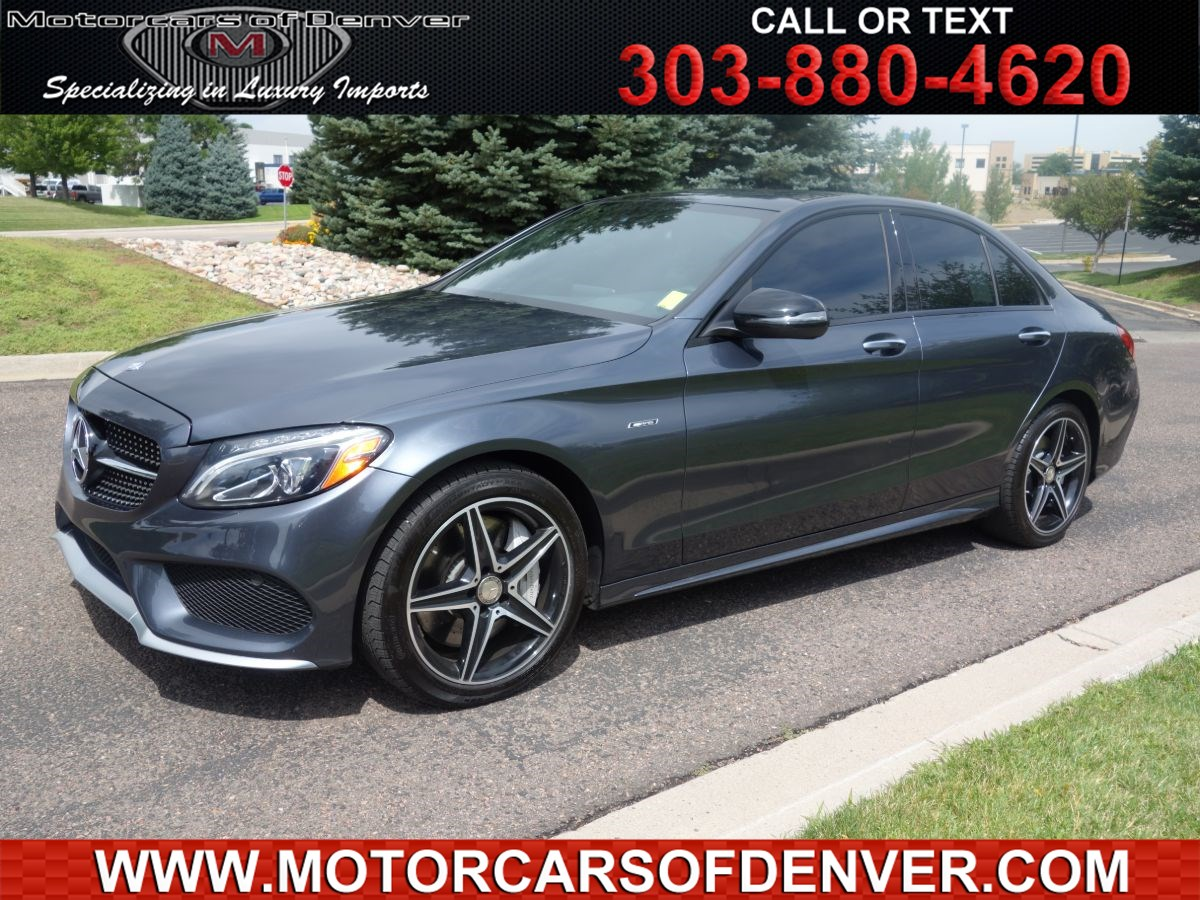 2016 Mercedes-Benz C 450 AMG 4MATIC Sedan