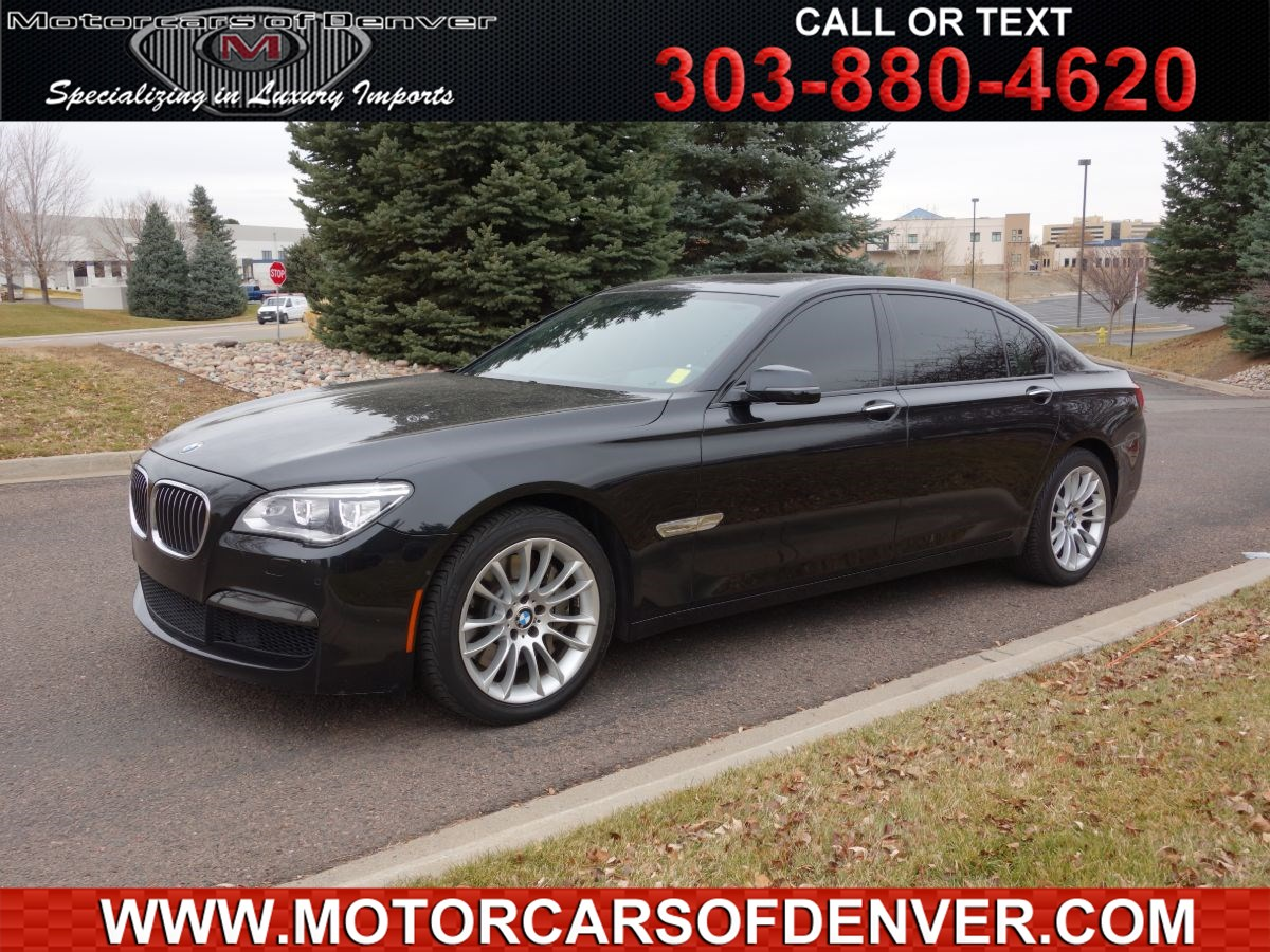 2013 BMW 7 Series 750Li xDrive Msport