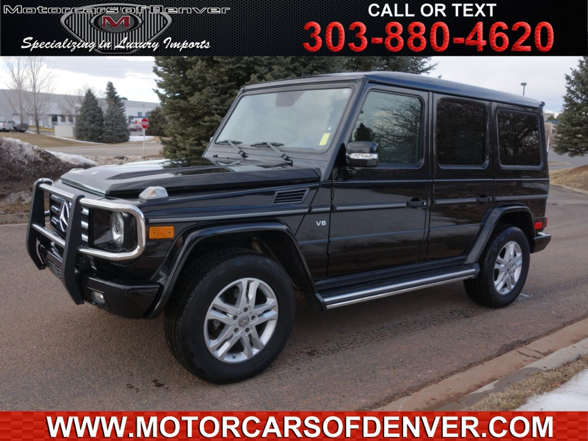 2011 Mercedes-Benz G 550 SUV