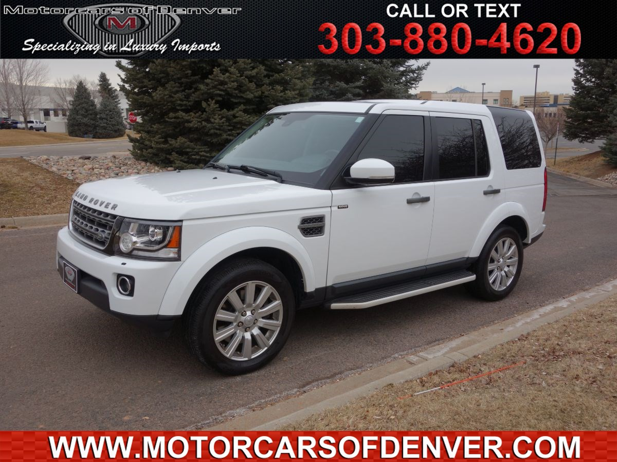 2016 Land Rover LR4 LOW MILES 3RD ROW