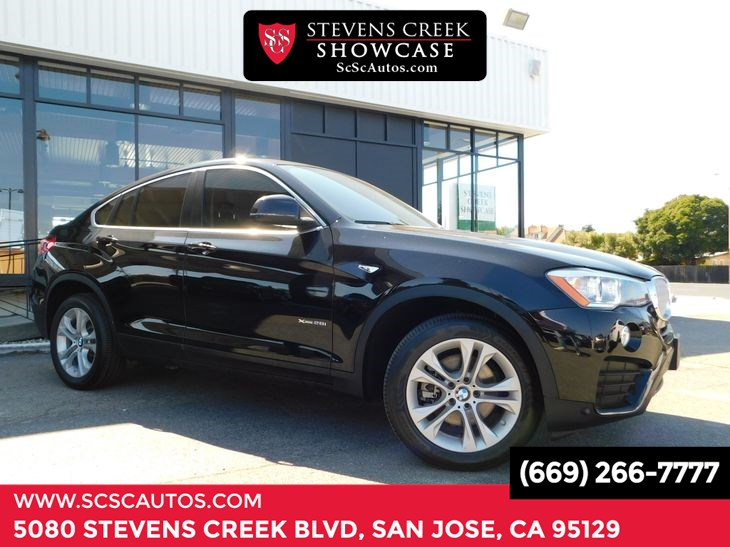 2016 BMW X4 xDrive28i Cold Weather Package Heated Front Seats Lighting Packa