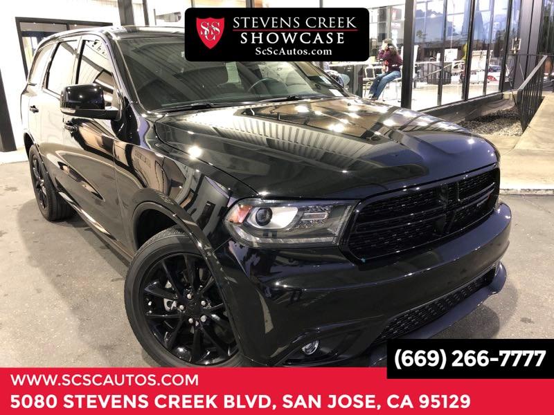 Stevens Creek Dodge >> Used 2017 Dodge Durango R T In San Jose