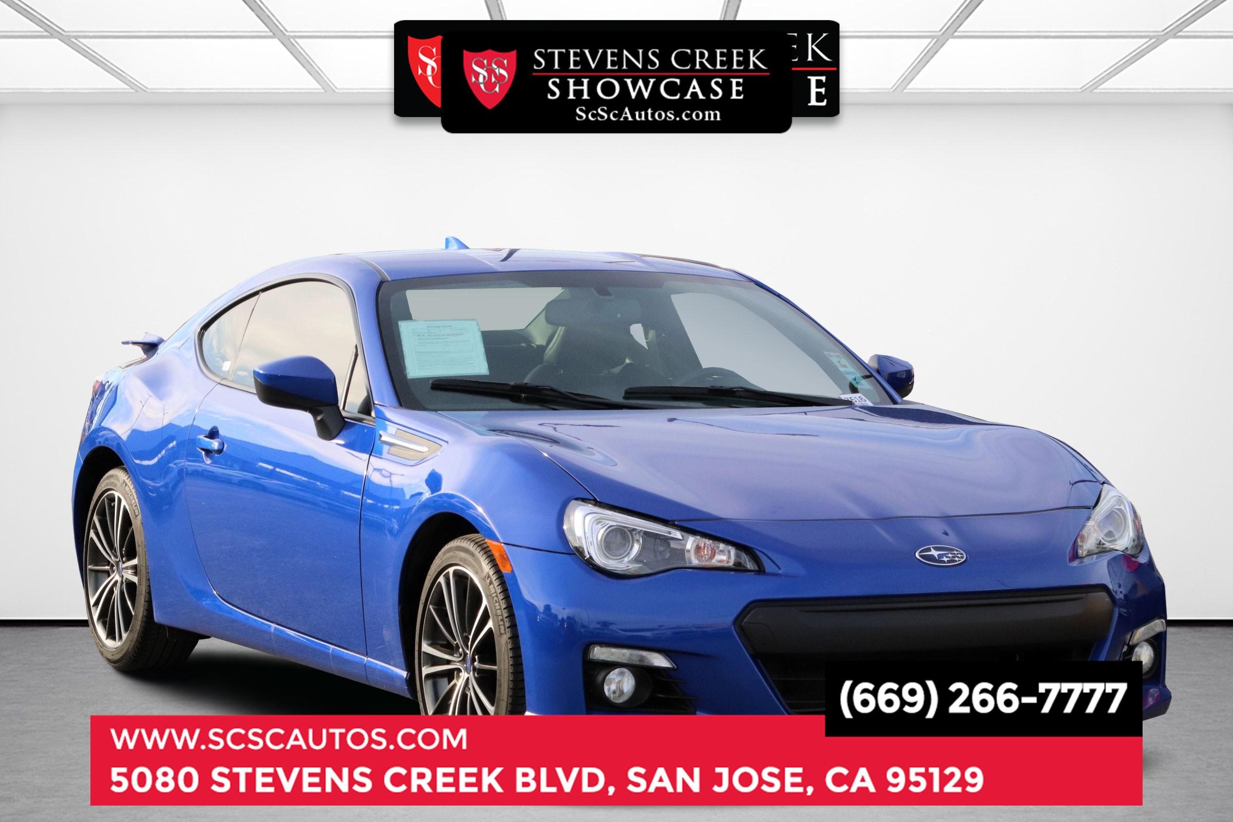 Used 2015 Subaru Brz Limited In San Jose