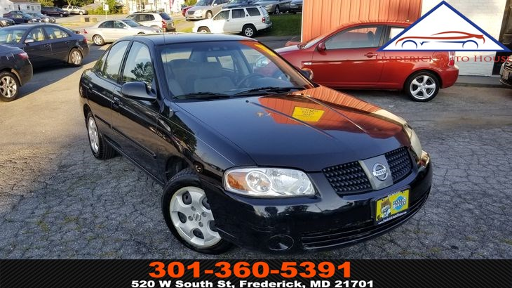 Sold 2004 Nissan Sentra S In Frederick