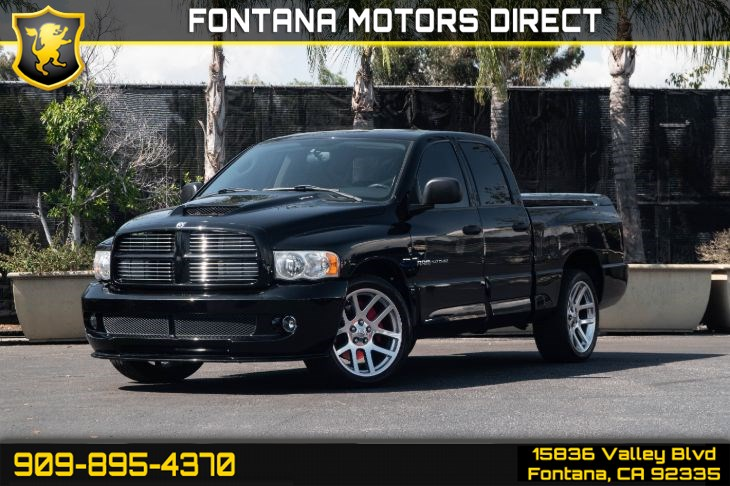 Dodge Ram Srt 10 For Sale >> Dodge Ram Pickup 1500 Srt 10