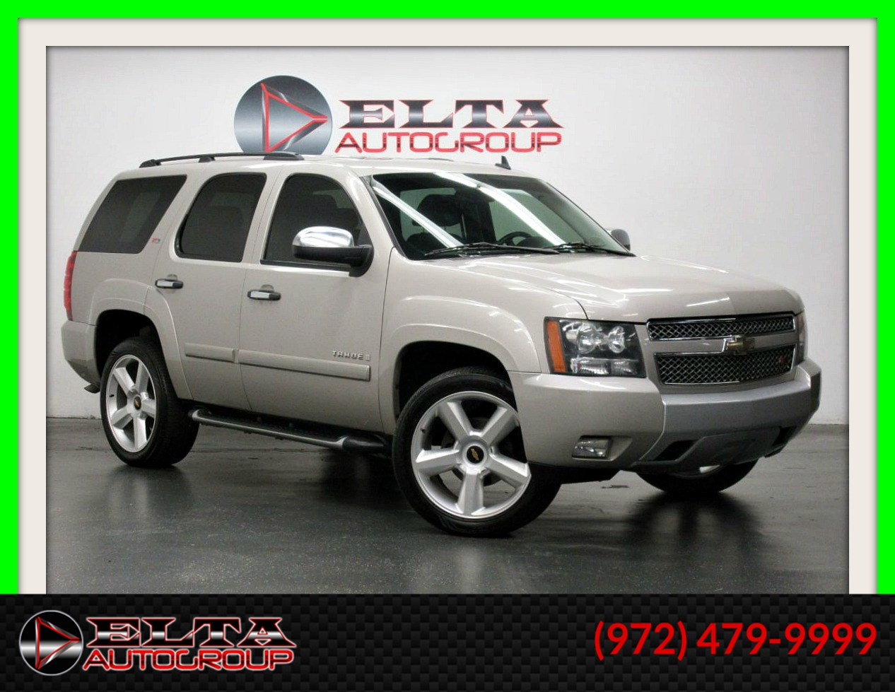 2008 Chevrolet Tahoe Z71 * 4WD * SUNROOF * 3RD ROW * DVD *1 OWNER