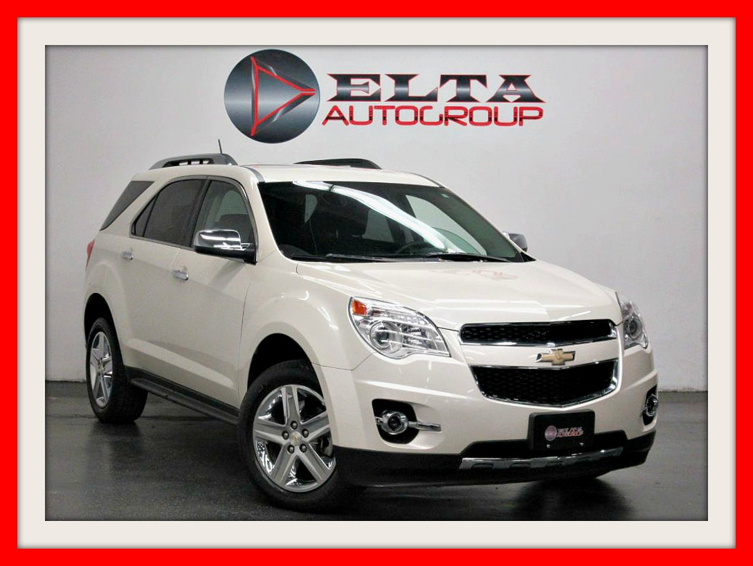 2015 Chevrolet Equinox LTZ * NAVIGATION * CAMERA * LEATHER * LOW MILES