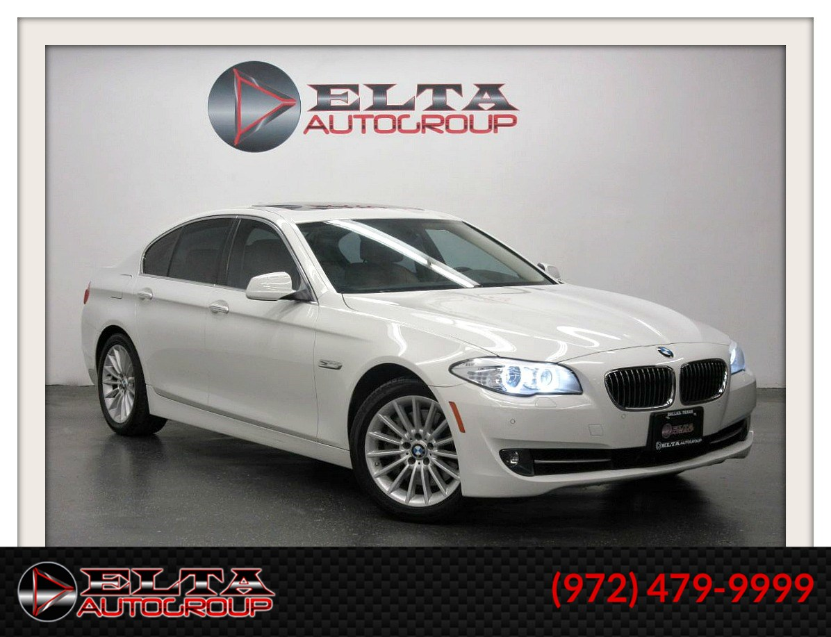 2013 BMW 5 Series 535i * NAVIGATION * CAMERA * LOW MILES * 1 OWNER