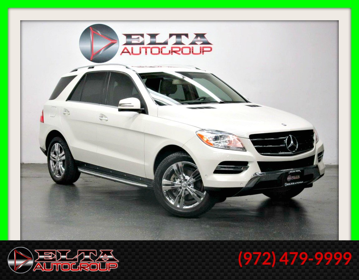2013 Mercedes-Benz ML 350 PREMIUM * NAVI * CAMERA * CHROME * LOW MILES