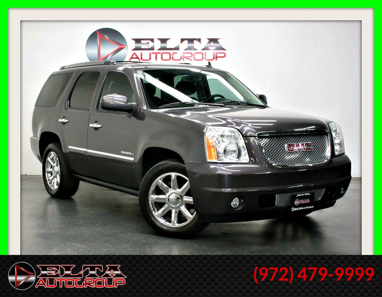 2011 GMC Yukon DENALI * NAVI * CAM * 3RD * BOARDS * DVD * CHROME