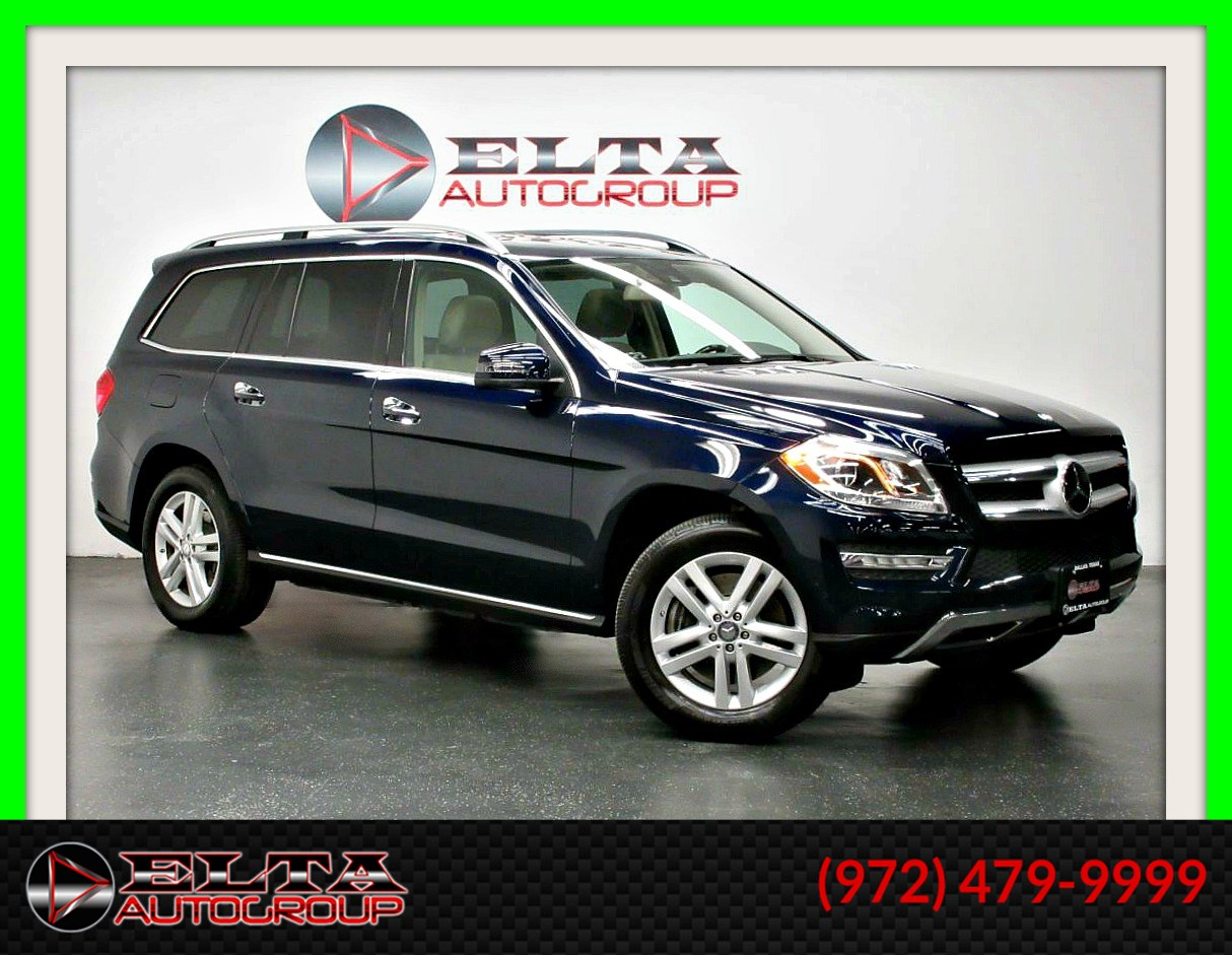 2013 Mercedes-Benz GL 450 4MATIC * NAVIGATION * CAMERA * 3RD ROW * 1 OWNER