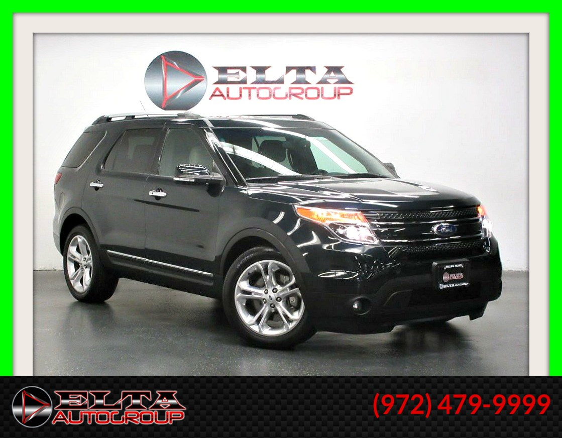 2014 Ford Explorer LIMITED * LEATHER * ROOF * 3RD ROW * LOW MILES