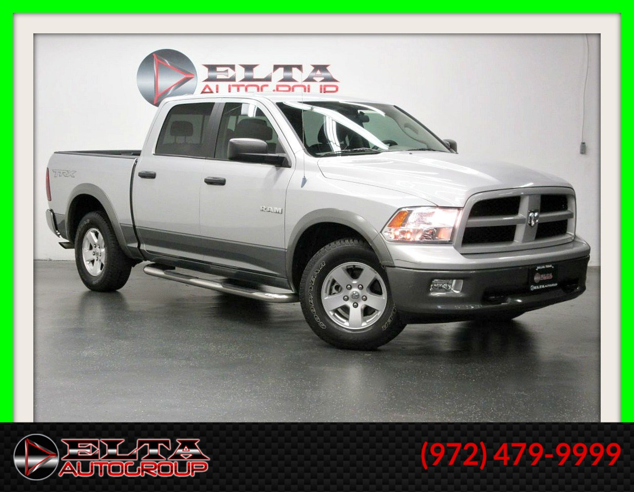 2010 Dodge Ram 1500 TRX * CREW CAB * V8 * LOW LOW MILES * 1 OWNER