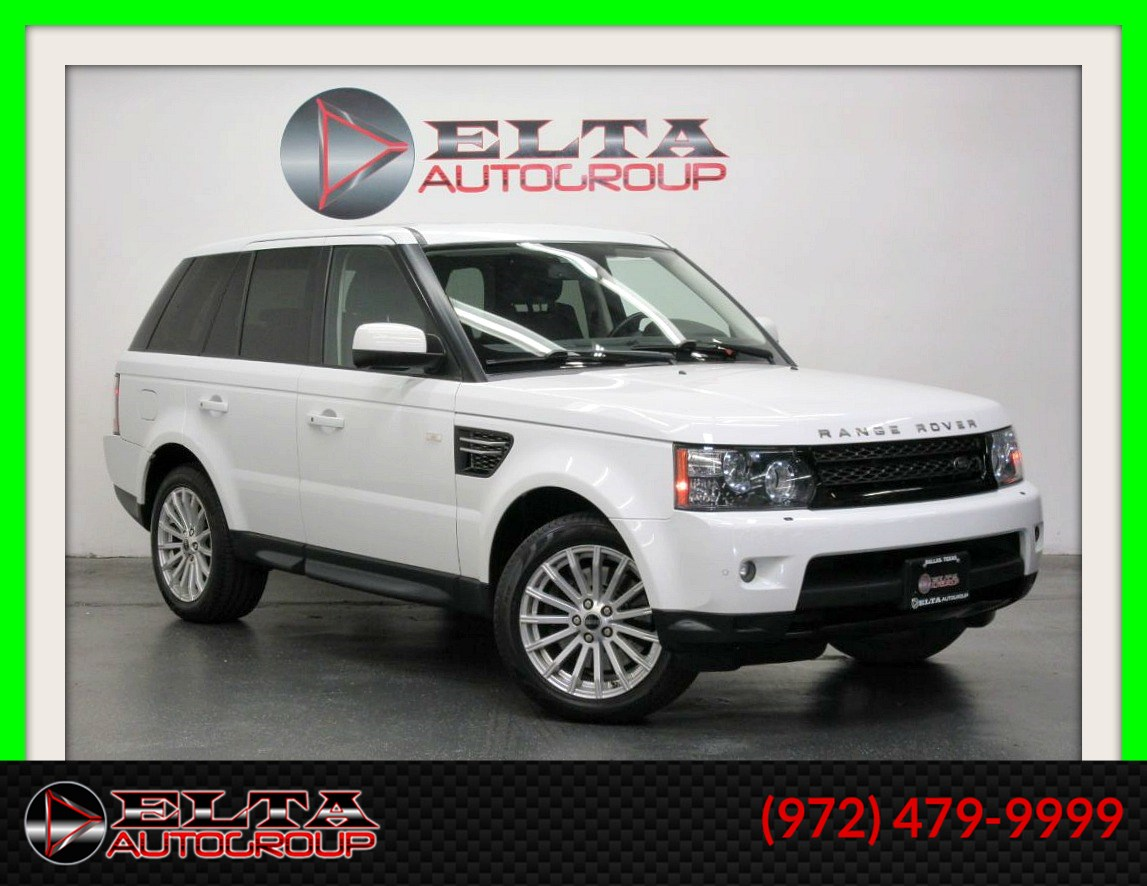 2012 Land Rover Range Rover Sport HSE * 4WD * NAVIGATION * CAMERA * LOW MILES