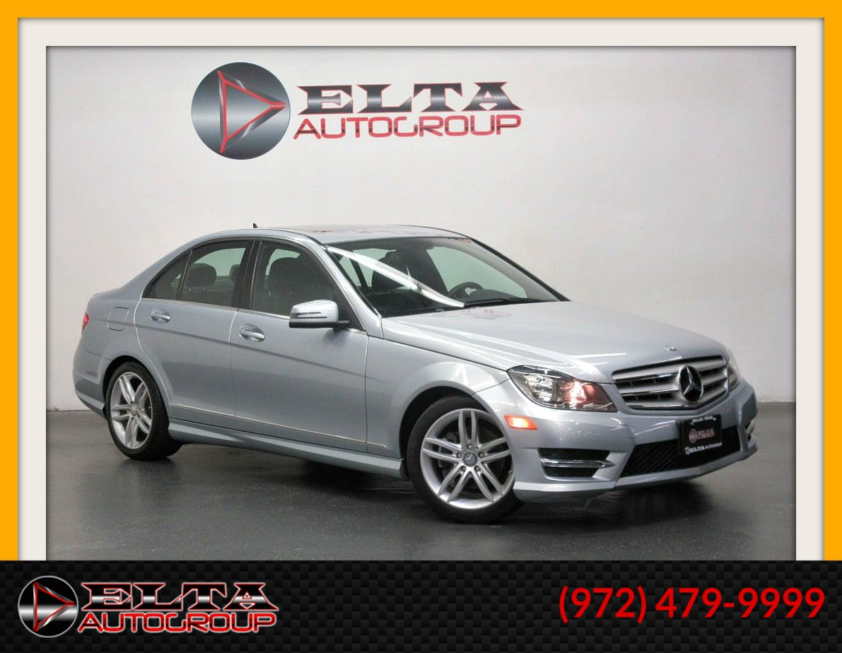 2013 Mercedes-Benz C 250 Sport Sedan * NAVIGATION * CAMERA * ROOF * LEATHER  - Delta Auto Group