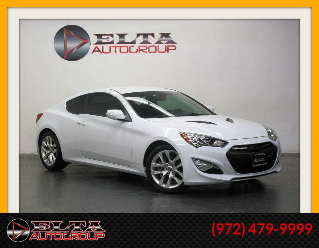 2015 Hyundai Genesis Coupe 3.8L * AUTOMATIC * KEYLESS * LOW MILES * 1 OWNER