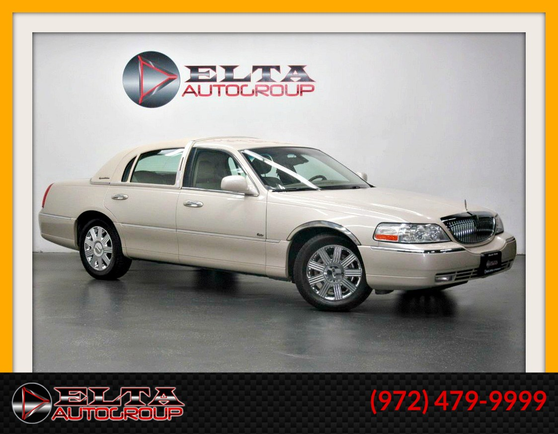 2003 Lincoln Town Car Cartier Edition * Leather * Chrome * 1 owner