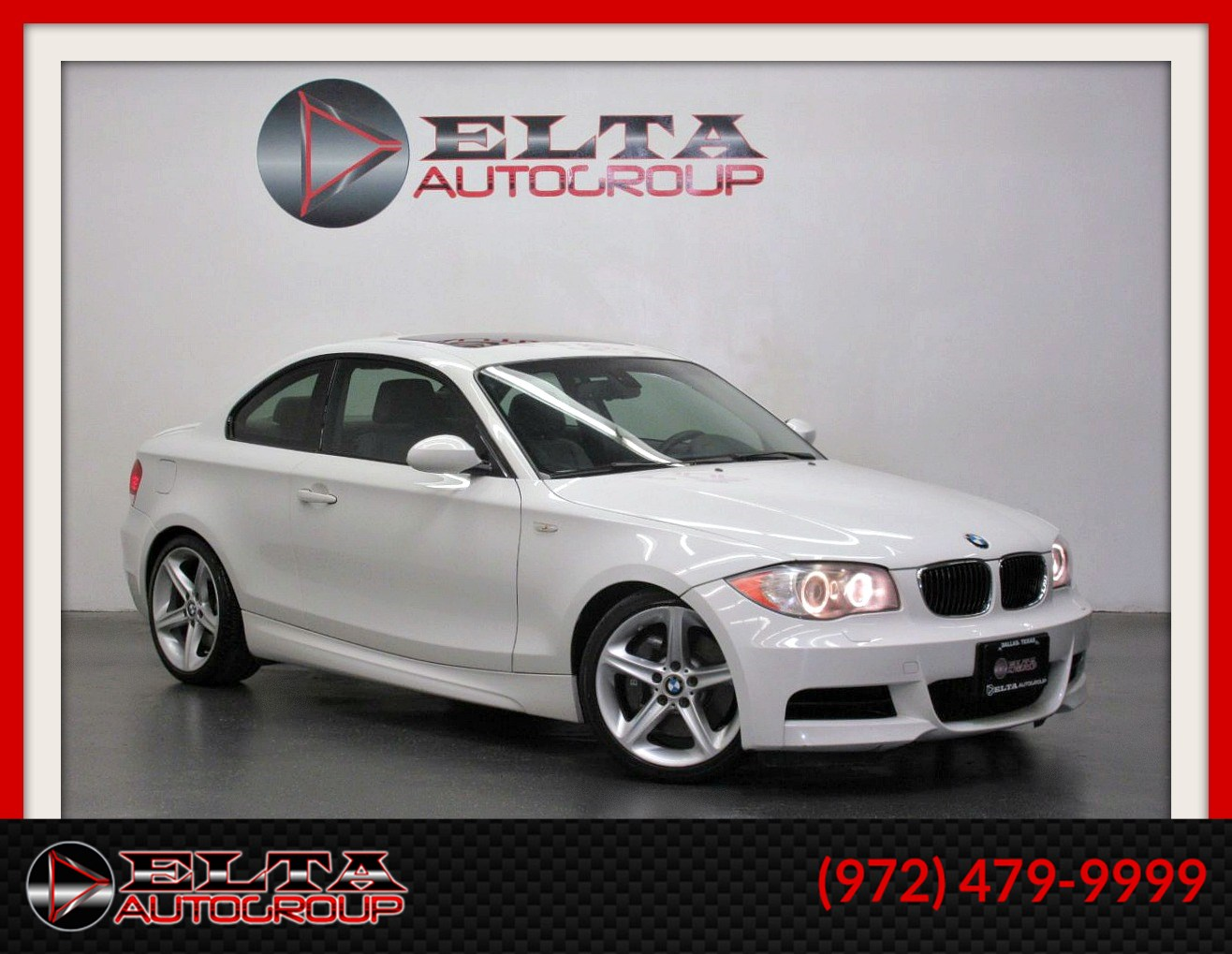 2008 Bmw 1 Series 135i Coupe M Sport Auto Sunroof Leather Delta Auto Group
