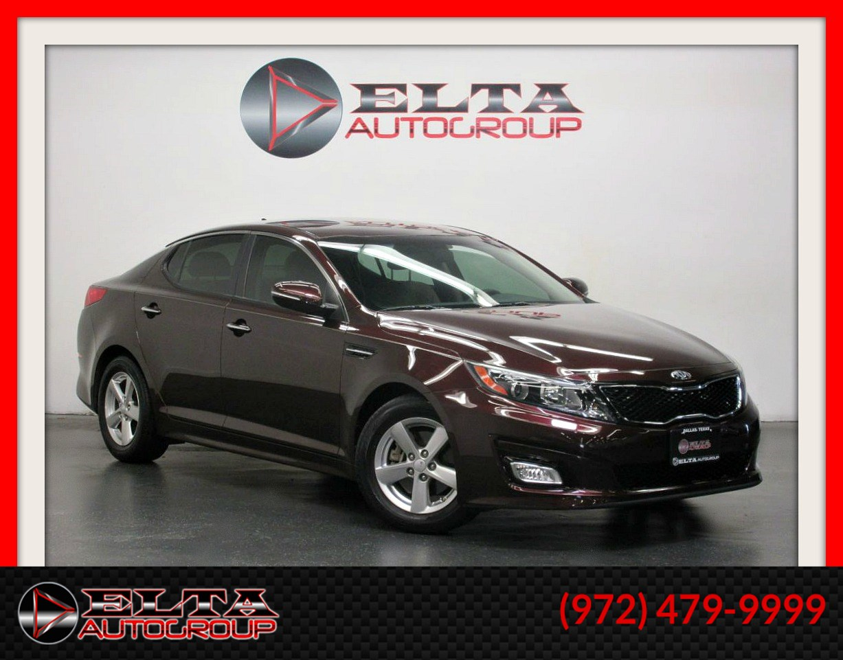 2015 Kia Optima LX * AUTOMATIC * LOW MILES * 1 OWNER