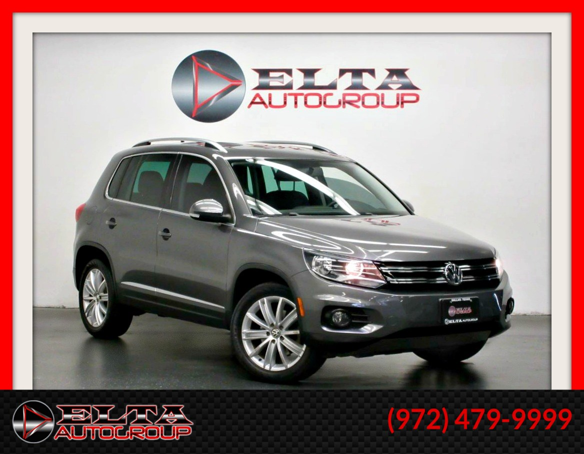 2012 Volkswagen Tiguan SE * NAVIGATION * PANO-ROOF * LEATHER