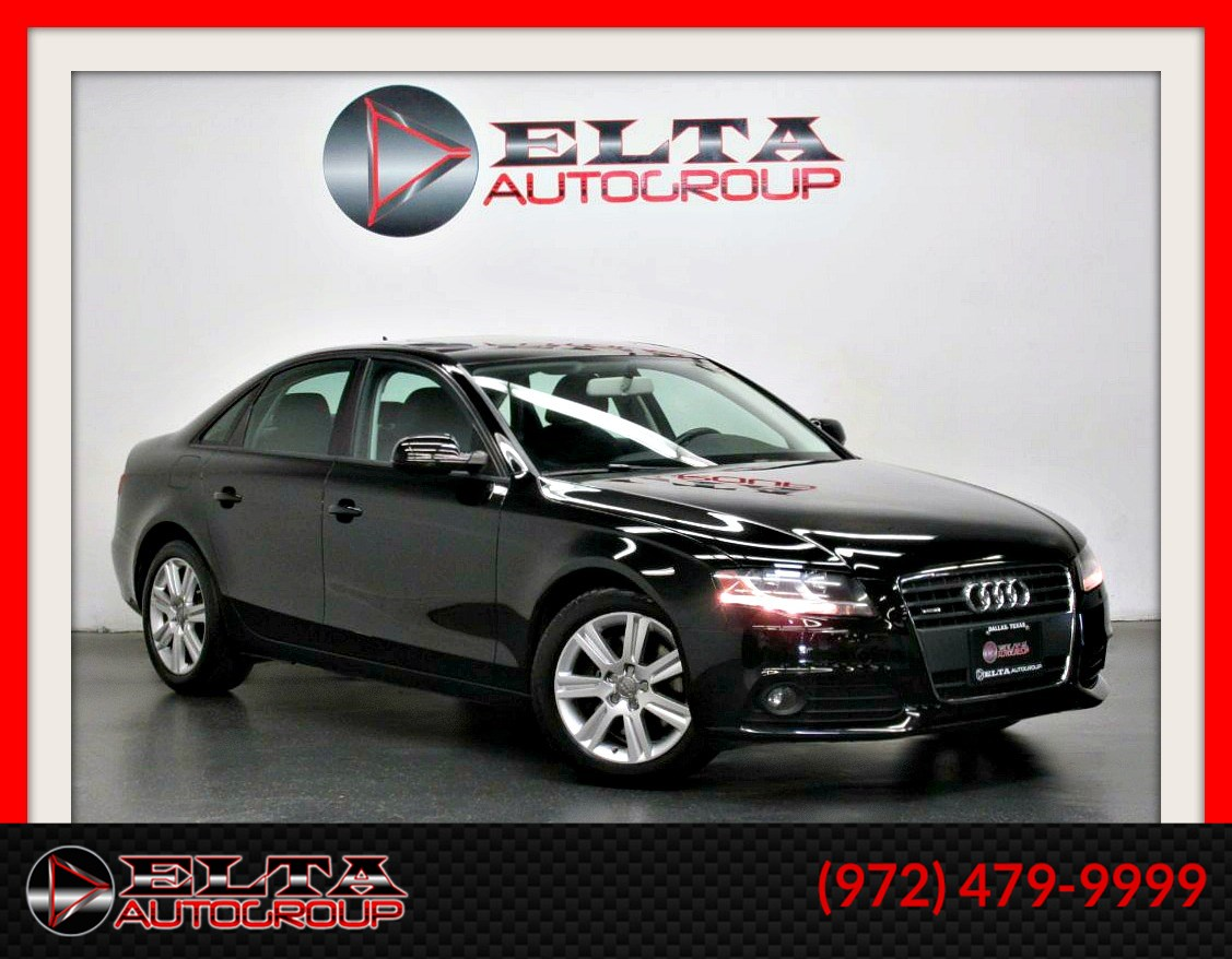 2011 Audi A4 2.0T Premium * LEATHER * SUNROOF * LOW MILES